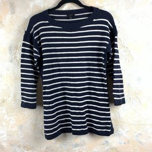 Talbots Striped 3/4 Sleeve Sweater Knit Top 15